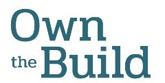own the build logo